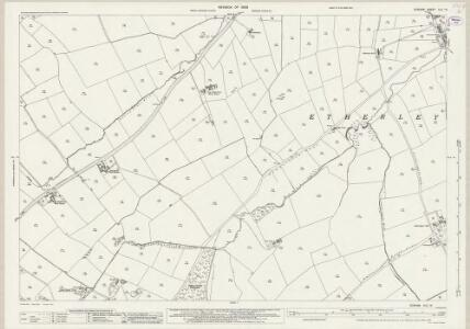 Durham XLII.13 (includes: Bishop Auckland; Etherley; Evenwood And Barony) - 25 Inch Map