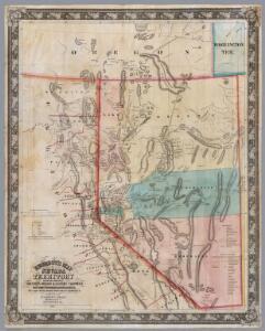 DeGroot's Map Of Nevada Territory.
