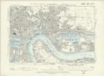 London VIII.SW - OS Six-Inch Map