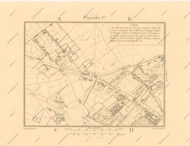 La Topographie de Paris ou Plan détaillé de la Ville de Paris 1