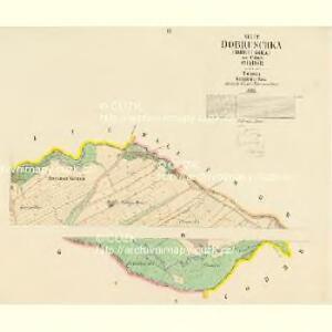 Dobruschka (Dobrusska) - c1200-1-002 - Kaiserpflichtexemplar der Landkarten des stabilen Katasters
