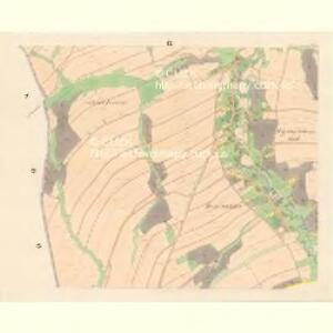 Partschendorf (Bartossowice) - m0035-1-009 - Kaiserpflichtexemplar der Landkarten des stabilen Katasters