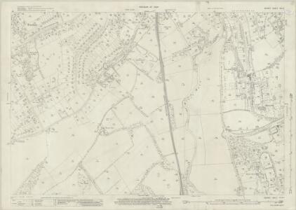 Surrey XXV.3 (includes: Fetcham; Leatherhead; Mickleham) - 25 Inch Map