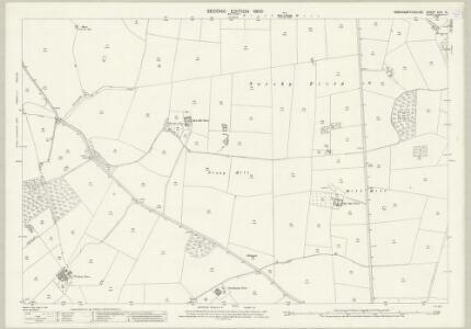 Northamptonshire XXIII.10 (includes: Clipston; Naseby; Sulby) - 25 Inch Map