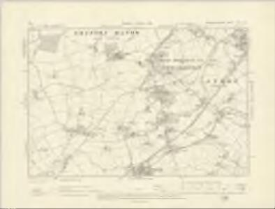 Worcestershire XXII.NE - OS Six-Inch Map