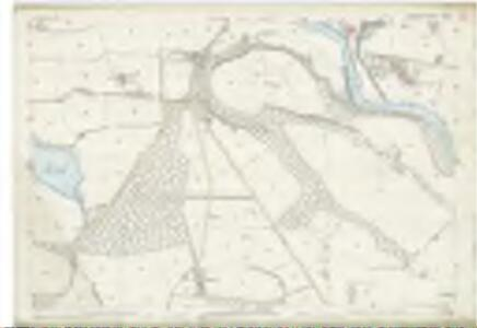 Perth and Clackmannan, Perthshire Sheet CXXXII.1 (Combined) - OS 25 Inch map