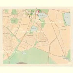 Bzy - c0730-1-004 - Kaiserpflichtexemplar der Landkarten des stabilen Katasters