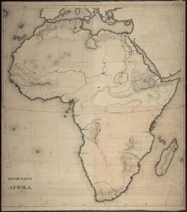Wandcharte von Afrika