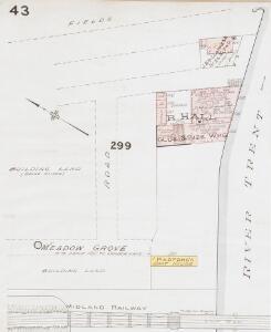 Insurance Plan of Nottingham Vol. III: sheet 43-1