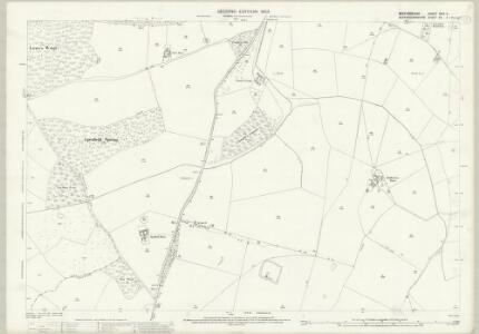 Bedfordshire XXIV.11 (includes: Heath and Reach; Little Brickhill; Potsgrove; Soulbury; Woburn) - 25 Inch Map
