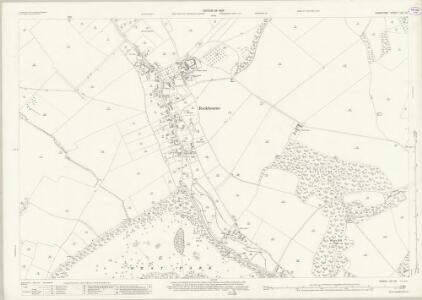 Hampshire and Isle of Wight LIV.10 (includes: Damerham; Rockbourne; Whitsbury) - 25 Inch Map