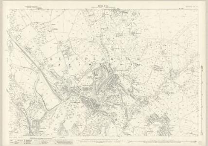 Caernarvonshire XII.6 (includes: Bethesda; Llandygai; Llanllechid) - 25 Inch Map
