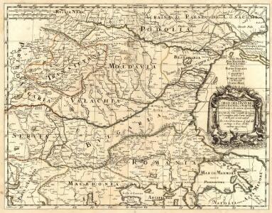 Corso del Danvbio da Belgrado sino al Mar Nero