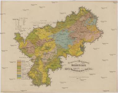 Geognostisch-Montanistische Übersichts-Karte des Egerer Handelskammer-Gebietes