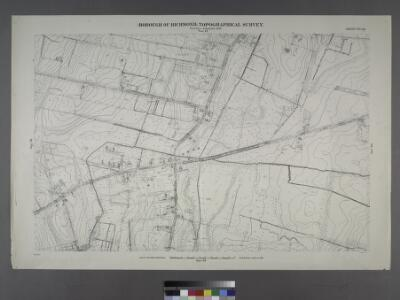 Sheet No. 29. [Includes Bulls Head, from Merrill Avenue to Richmond Turnpike.]; Borough of Richmond, Topographical Survey.