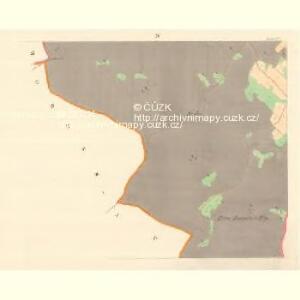 Koslau (Koyssl) - m1318-1-004 - Kaiserpflichtexemplar der Landkarten des stabilen Katasters