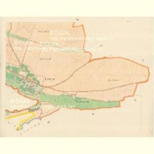 Lexen (Lissnice) - m1589-1-005 - Kaiserpflichtexemplar der Landkarten des stabilen Katasters