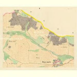 Bojanowitz - c0331-1-002 - Kaiserpflichtexemplar der Landkarten des stabilen Katasters