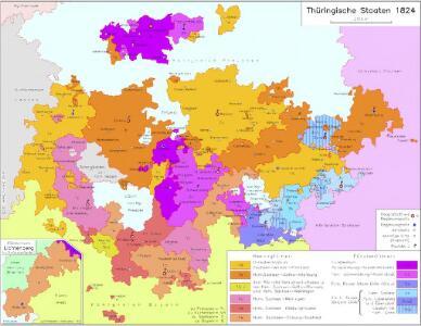 Thüringische Staaten 1824