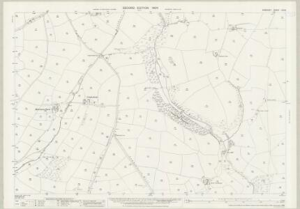 Somerset LVII.8 (includes: Brompton Regis; Exton) - 25 Inch Map