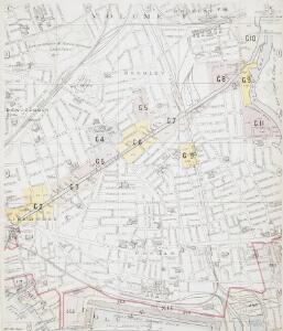 Insurance Plan of London East District Vol. G: sheet C