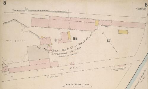 Insurance Plan of Limerick: sheet 8-1