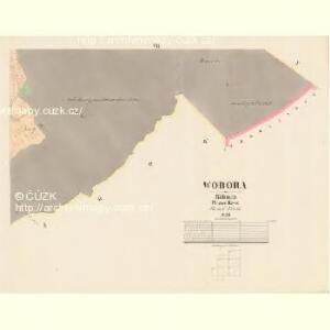 Wobora - c5347-1-006 - Kaiserpflichtexemplar der Landkarten des stabilen Katasters
