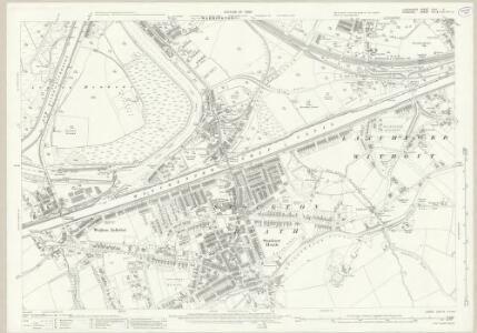 Lancashire CXVI.5 (includes: Appleton; Grappenhall; Stockton Heath; Walton; Warrington) - 25 Inch Map