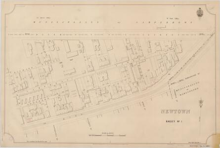 Newtown, Sheet 1, 1897