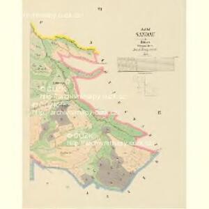 Sandau - c1416-1-007 - Kaiserpflichtexemplar der Landkarten des stabilen Katasters