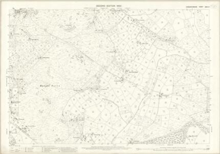Caernarvonshire XXXII.10 (includes: Buan; Llannor; Nevin; Pistyll) - 25 Inch Map