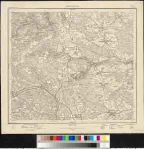 Meßtischblatt [7816] : Königsfeld, 1910