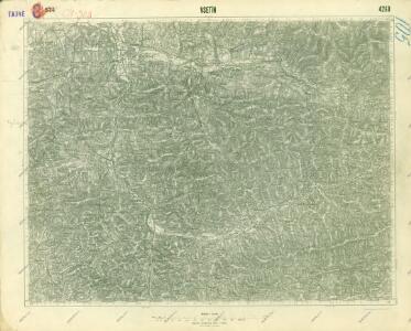 III. vojenské mapování 4260
