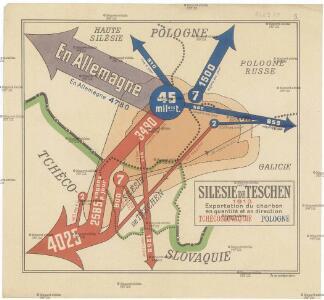 Silesie de Teschen 1913