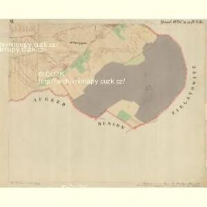 Prerau (Přerow) - m2453-1-020 - Kaiserpflichtexemplar der Landkarten des stabilen Katasters