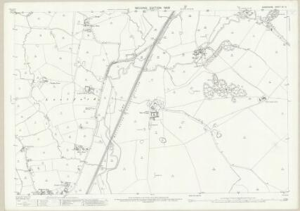 Shropshire XV.12 (includes: Hodnet; Moreton Say; Stoke Upon Tern; Sutton Upon Tern) - 25 Inch Map