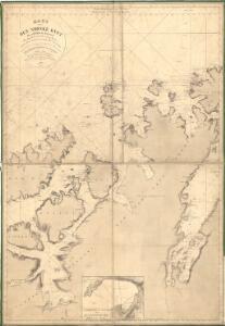 Museumskart 144: Kart over Den Norske Kyst fra Sørøen til Nordkap