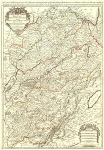 La Franche-Comté divisée en Trois Grands Balliages