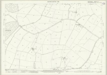 Bedfordshire XX.3 (includes: Cranfield; Moulsoe) - 25 Inch Map