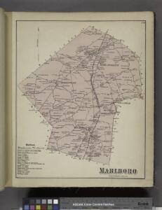 Marlboro Business Notices. ; Marlboro [Township]