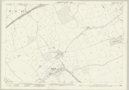 Somerset LXXXIV.3 (includes: Abbas Combe; Charlton Horethorne; Henstridge; Milborne Port) - 25 Inch Map
