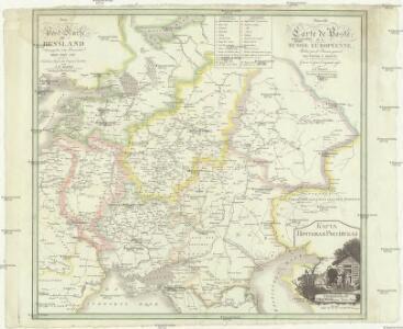 Neue Post-Karte von Russland herausgegeben vom moscowschen Ober Post Amt