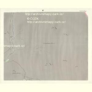 Gross Aurzim (Welky Auřim) - c8466-1-004 - Kaiserpflichtexemplar der Landkarten des stabilen Katasters