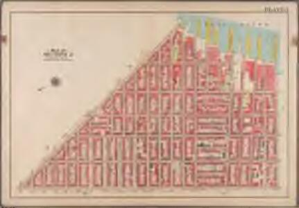 Plate 3: [Bounded by Van Brunt Street (East River Piers), Harrison Street, Columbia Street, Amity Street, Court Street, and Hamilton Avenue.]; Atlas of the borough of Brooklyn, city of New York: from actual surveys and official plans by George W. and Walter S. Bromley.
