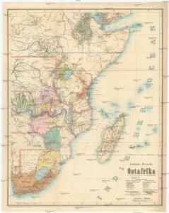 Politische Übersicht von Ostafrika