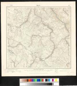 Meßtischblatt 117 : Sayda, 1919