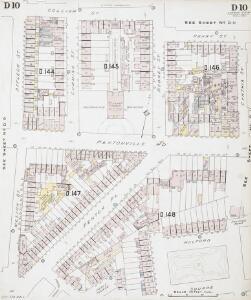 Insurance Plan of London North District Vol. D: sheet 10