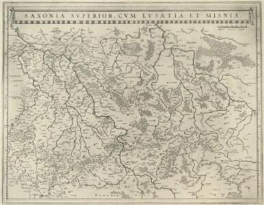 Saxonia Svperior, Cvm Lvsatia et Misnia
