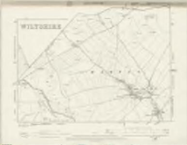 Hampshire & Isle of Wight XLVIA.SE & LIVA.NE - OS Six-Inch Map