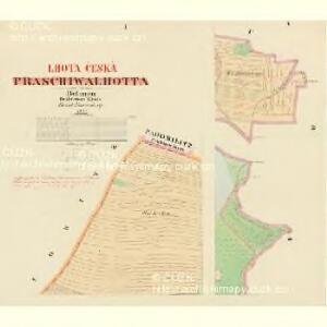 Praschiwalhotta - c0953-1-001 - Kaiserpflichtexemplar der Landkarten des stabilen Katasters